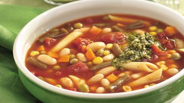 Slow-Cooker Italian Vegetable Soup with White Beans