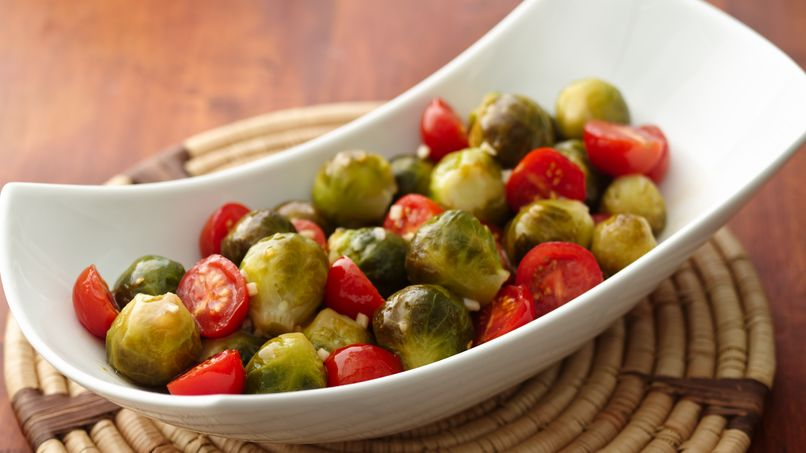 Cherry Tomato-Brussels Sprouts