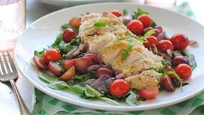 Chicken Parmesan Salad