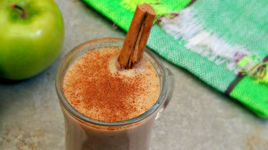 Smoothie Caliente de Pie de Manzana