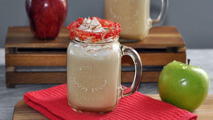 Hot Caramel Apple Spiked Cider