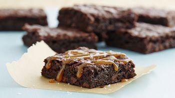 Gluten-Free Salted Caramel Brownies