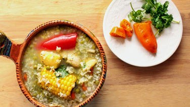 Chicken Aguadito Soup