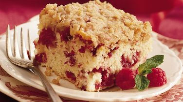 Cran-Raspberry Coffee Cake