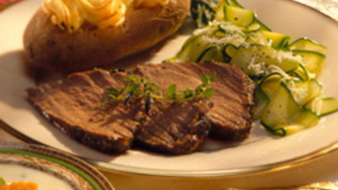 Marinated Tenderloin of Beef
