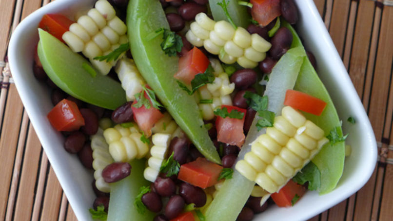 Southwestern Chayote Salad