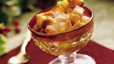 Peanut Brittle Bread Pudding