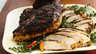 Spiced Turkey Breasts