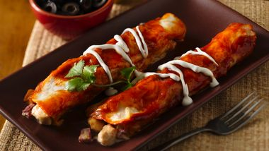 Easy Chicken Enchiladas