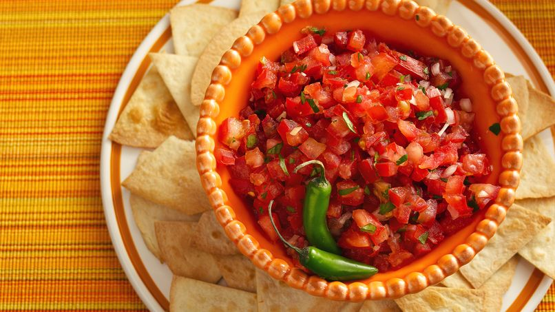 Salsa Pico de Gallo with Chile