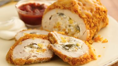 Southwestern Cheese-Stuffed Chicken Roll-Ups