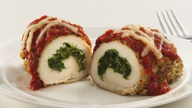 Skinny Stuffed Chicken Parmesan