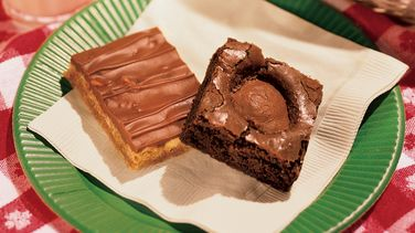 Peanut Butter Surprise Brownies