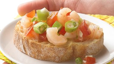 Gulf Shrimp Crostini