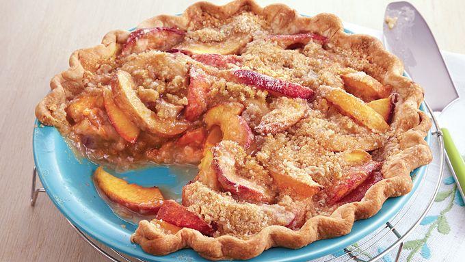 Vanilla Nectarine Pie