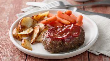 Grilled Meatloaf Dinner Foil Packs