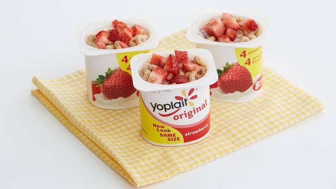 Strawberry O's Yogurt Cup