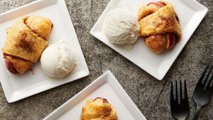 Apple Pie Crescent Bites
