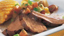 Lomo de cerdo caribeño