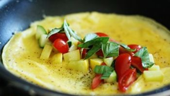 Easy Garden Omelet