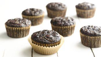 Paleo Gluten-Free Chocolate Zucchini Muffins
