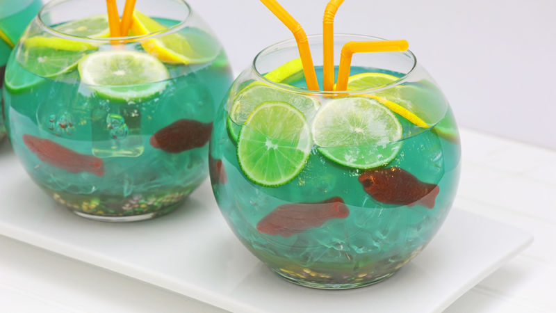 Fishbowl punch recipe from tablespoon for How to make a fish bowl