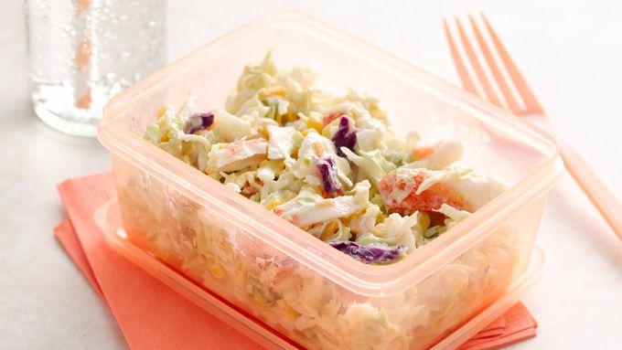 Key Lime Crab Slaw Salad