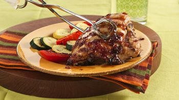 Honey-Orange Glazed Pork Chops