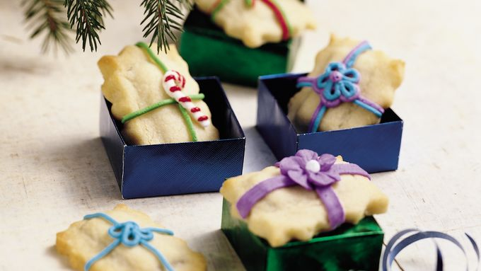 Chocolate-Stuffed Christmas Sugar Cookies