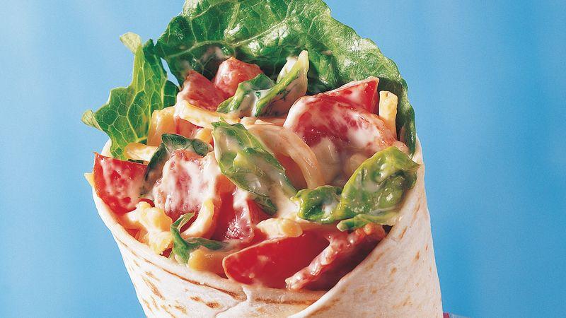 Burrito BLT Wrap