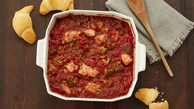 Easy Chicken and Tomato Casserole