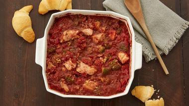 Easy Chicken and Tomato Casserole