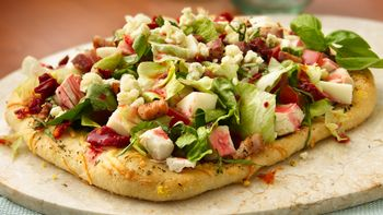 Italian Chopped Salad Pizzas