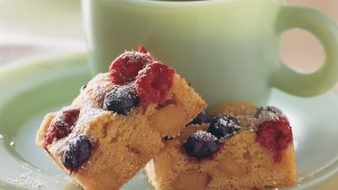 Almond and Berry Bars
