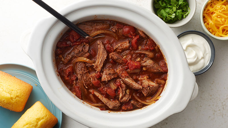 Slow-Cooker Texas Chili