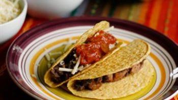 Black Bean and Sausage Tacos