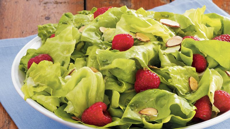 Raspberry-Lemon Salad