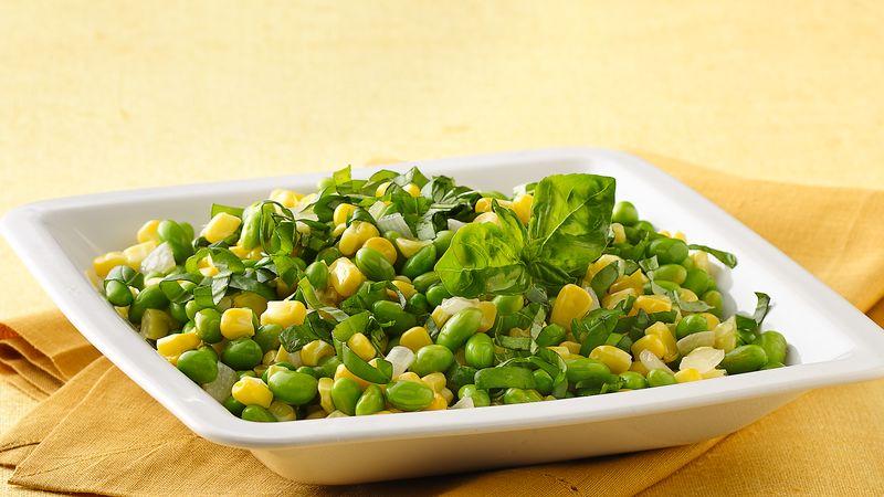 Corn and Sweet Bean Sauté