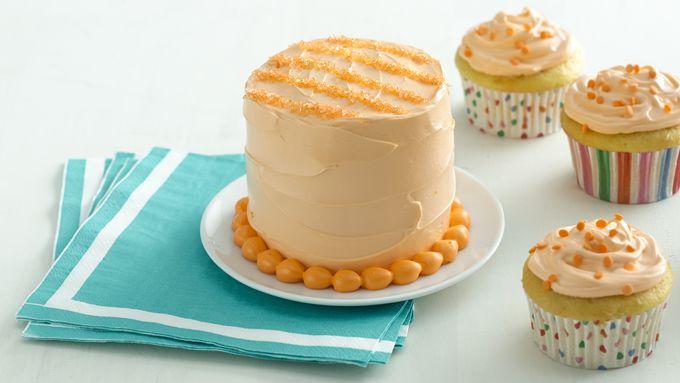 Striped Mini Smash Cake