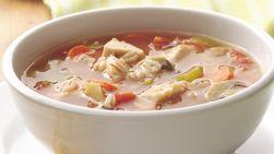 Sopa de Pollo y Cebada
