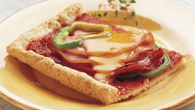 Hot Sub Deep-Dish Pizza