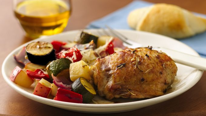 Mediterranean Chicken and Vegetables