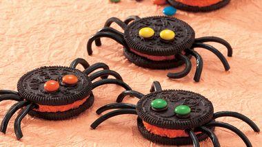 Spooky Spider Cookies