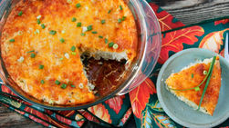 Turkey Casserole with Cheesy Hash Browns