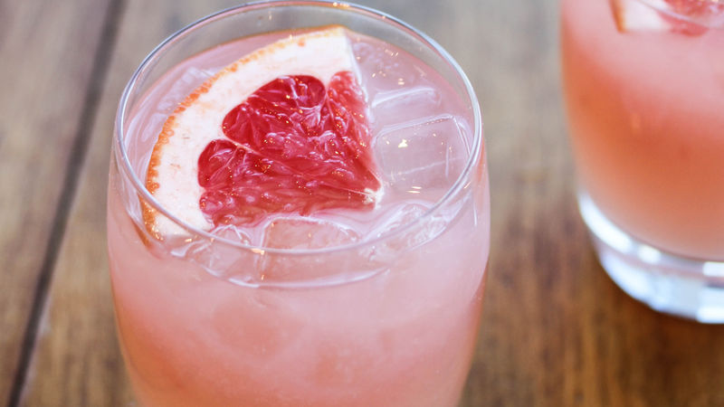 Ginger Grapefruit Fizz