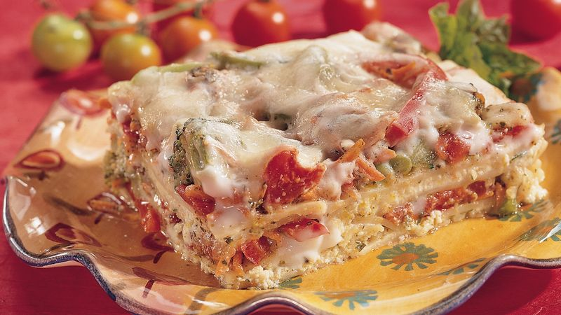Chunky Vegetable Lasagna