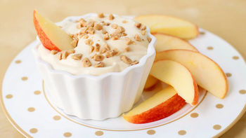 Greek Yogurt Caramel Fruit Dip