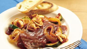 Slow-Cooker Italian Smothered Steak