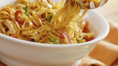 Hoisin Chicken and Noodles