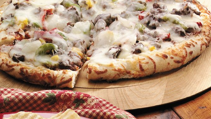 Supreme Beef Pizza